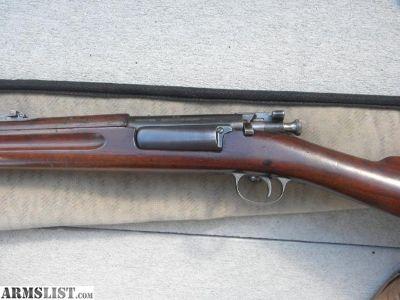 For Sale: Krag Model of 1898 Rifle 30-40
