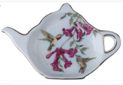 LKING FOR SMALL HUMMINGBIRD TEA BAG HOLDER / DISH. TAG ME IF YOU HAVE ONE LISTED. PM ME IF YOU HAVE ONE TO SELL.