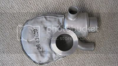 Volvo D6 exhaust riser/elbow
