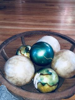 Decorative Bowl and Balls