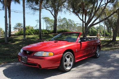 1996 Ford Mustang SVT Cobra (Red)