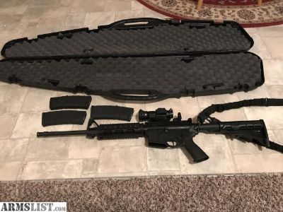 For Sale/Trade: AR 15 .556 Ruger