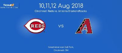 Cincinnati Reds vs. Arizona Diamondbacks at Cincinnati -Tixtm.com