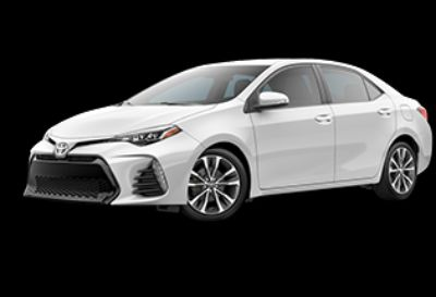2019 Toyota Corolla L (Super White)