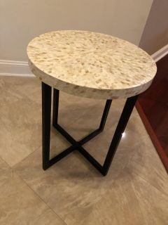 Set of two side tables from Pier1 for sale