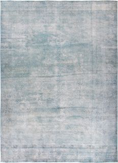 "Vintage, Hand Knotted Area Rug - 9' 3"" x 12' 9"""