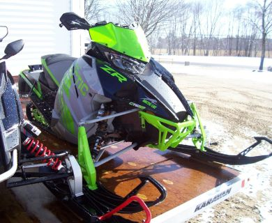 2018 Arctic Cat ZR 8000 RR ES (137) Trail Sport Snowmobiles Center Conway, NH