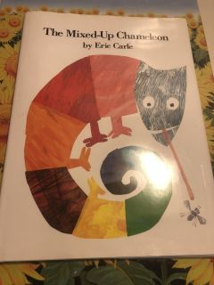 New Book Hardback By Eric Carle children s favorite author, mixed up chameleon