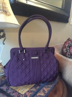 vera bradley purple purse