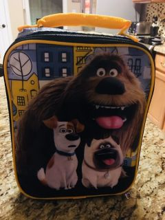 The Secret Life of Pets Soft Lunch Kit--LIKE NEW