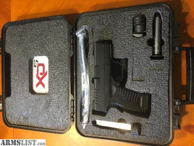 For Sale: Springfield XDS 3.3 9mm