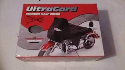 Purchase UltraGard Protective Bike Cover Cruiser Half Cover *NEW* Gray #4-456G motorcycle in Richlandtown, Pennsylvania, US, for US $28.99