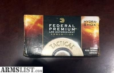For Sale: .380 HydraShok JHP excellent self defense ammo, 50 Rounds