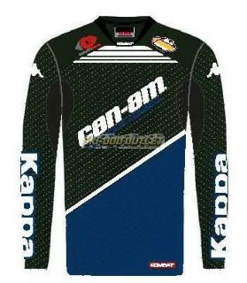 Buy Can-Am Kappa GOFAS Racing Team Jersey - Black/Blue motorcycle in Sauk Centre, Minnesota, United States, for US $49.99