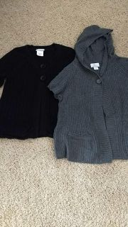 Maternity button sweaters