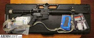 For Sale: NEW Rock River Arms AR-15 with TRS25 red dot