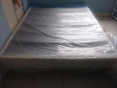 Boxspring With Rails