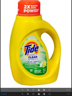 Tide Simply clean daybreak fresh laundry detergent