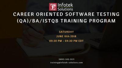 Join a Career - Oriented Software Testing, QA/BA, ISTQB Training Program