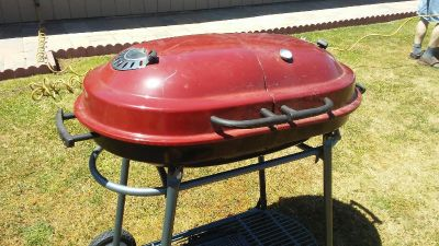 Red Double Sided BBQ