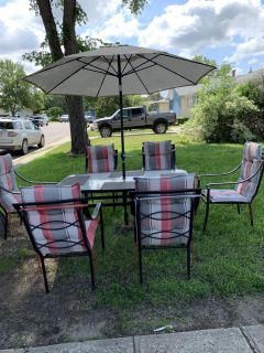 Patio furniture in great condition