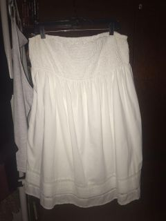 Old Navy tube-top smocked dress, Cotton gauze, great for summer even as a coverup! GREAT condition! but Too big now. Sz 18/20. Only $8!