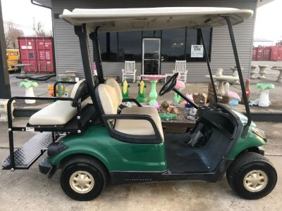 Gas 4 passenger golf cart