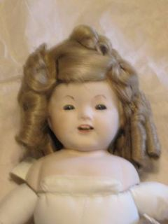 Shirley Temple doll  wig (Metairie)