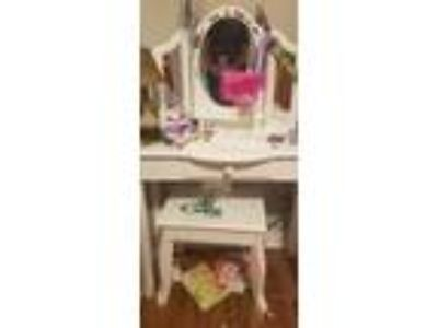 Chest of drawers and vanity
