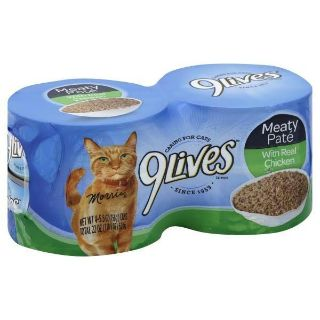 9 lives Meaty Pate With Real Chicken