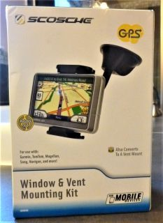 SCOSCHE GPS WINDOW & VENT MOUNTING KIT