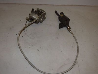 Buy 8K 2004 04 Skidoo Summit 800 Front Brake Caliper Hose Master Cylinder Reservoir motorcycle in Kalispell, Montana, United States, for US $69.99