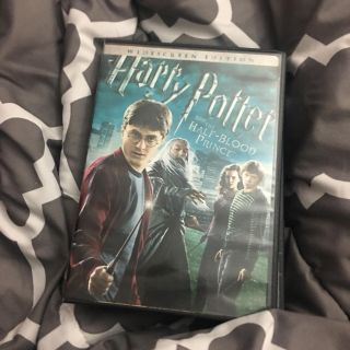 Harry Potter and the half blood prince movie dvd