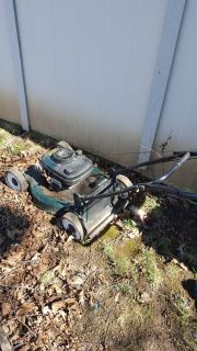 Old, Ugly Lawn Mower