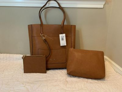 NWT Steve Madden tote and pouches. Retail $88.