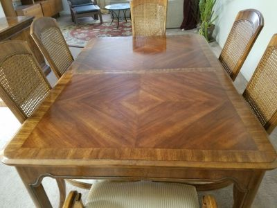 Complete Walnut Dining Room Set - 14 Pieces