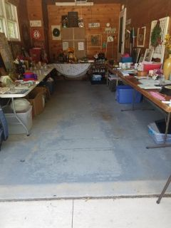 Garage sale today and Friday 8 to 3