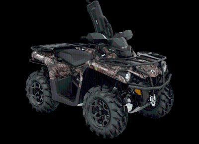 2018 Can-Am Outlander Mossy Oak Hunting Edition 570 Utility ATVs Bennington, VT