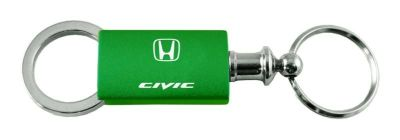 Sell Honda Civic Green Anodized Aluminum Valet Keychain / Key fob Engraved in USA Ge motorcycle in San Tan Valley, Arizona, US, for US $14.61