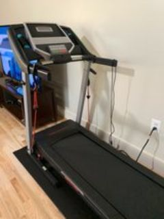 Proform 6.0 RT Folding Total Body Workout Treadmill with Mat