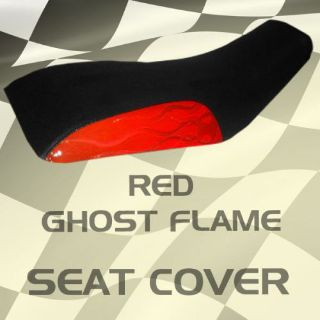 Sell Honda ATC200 81-83 Red Ghost Flame Seat Cover #wds15085 koj7095 motorcycle in Milwaukee, Wisconsin, United States, for US $39.99
