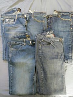 Lot of womans jeans