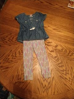 Cat & Jack outfit on EUC
