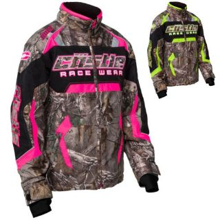 Sell Castle Bolt Realtree G3 Youth Girls Camo Snowmobile Snow Winter Jacket Outerwear motorcycle in Manitowoc, Wisconsin, United States, for US $144.99