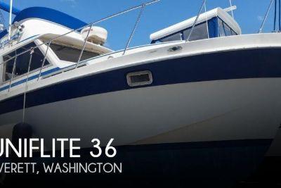 1976 Uniflite 36 Double Cabin