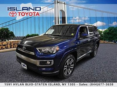 2015 Toyota 4Runner SR5 (Nautical Blue Pearl)