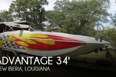 2005 Advantage 34 Party Cat TRX