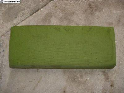 79 Westfalia camper green arm rest