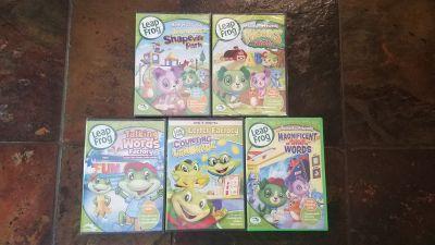 Leap Frog DVDs