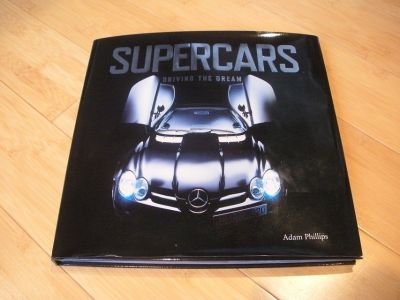 supercars - driving the dream 2006 great pictures new book! nice see!
